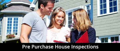Pre purchase home inspections