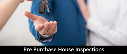 Pre purchase house inspections